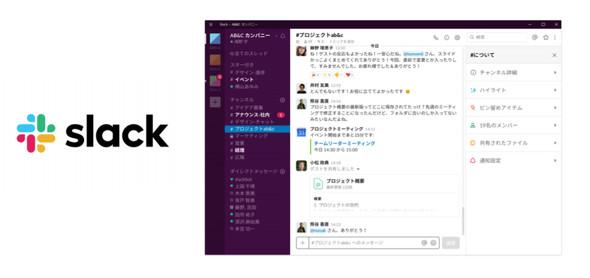 Slack活用イメージ